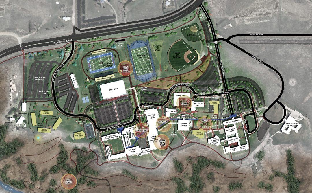 University of Mary Campus Masterplan